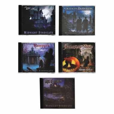 Halloween horror cds