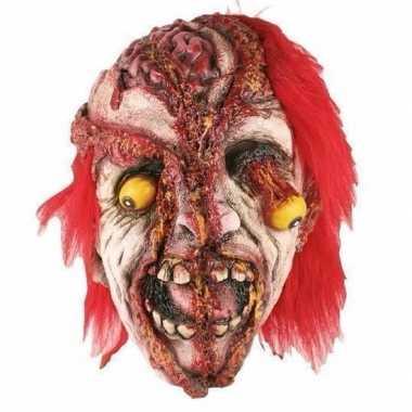 Halloween - horror gele ogen masker