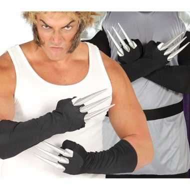 Halloween - horror klauwen handschoenen