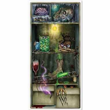 Halloween - horror koelkast scenesetter/deurposter halloween 76 x 152
