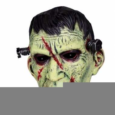 Halloween - latex horror masker frankenstein