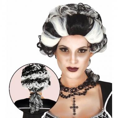 Halloween - markies vampier / dracula damespruik