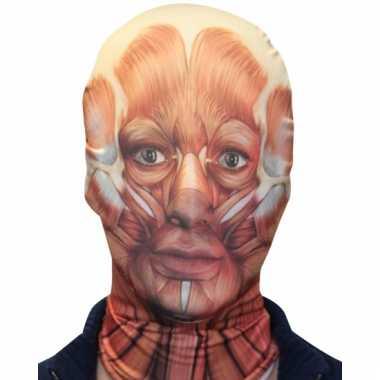 Halloween masker gevild gezicht