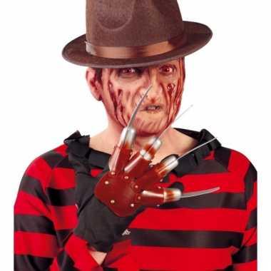 Halloween messen handschoen