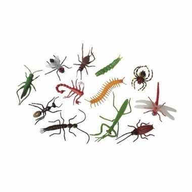 Halloween - plastic insecten 12 stuks