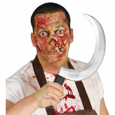 Halloween - plastic sikkel 44 cm
