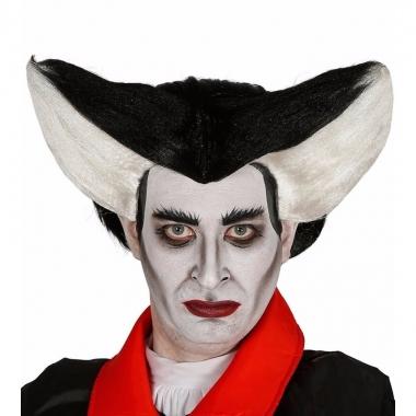 Halloween - puntige vampierenpruik voor heren