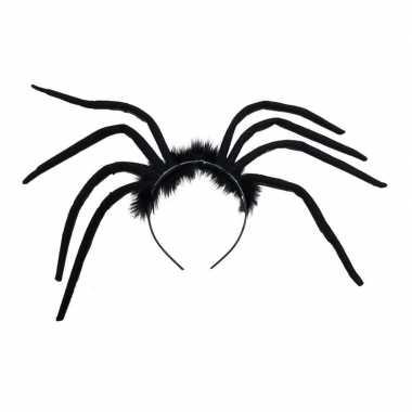 Halloween - spinnen diadeem voor volwassenen