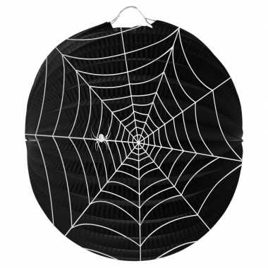 Halloween - spinnenweb lampion 22 cm