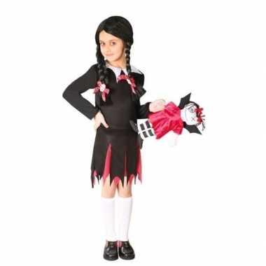 Halloween wednesday verkleed jurk voor meisjes