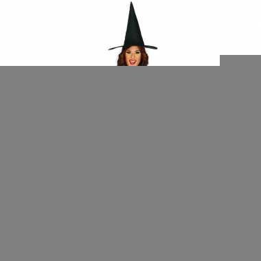 Halloween - zwart heksen kostuum budget voor dames