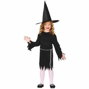 Halloween - zwart heksen kostuum budget voor meisjes