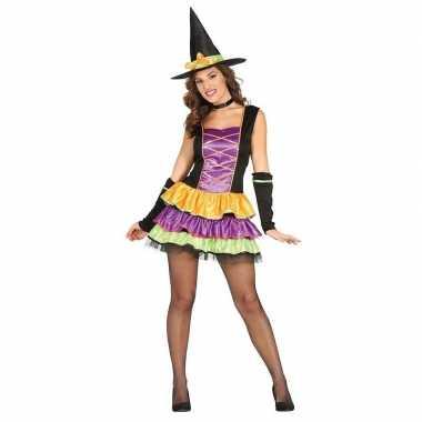 Halloween - zwart heksen kostuum voor dames