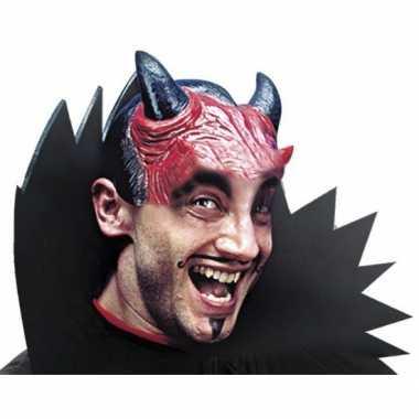 Halve masker van een duivel