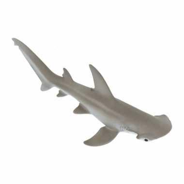 Hamerhaai van plastic 13 cm