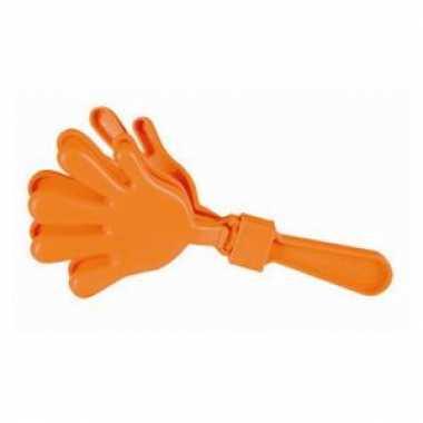 Handklappers oranje 23.5 cm