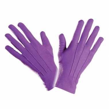 Handschoenen in het paars