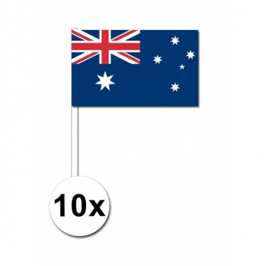 Handvlag australie set van 10