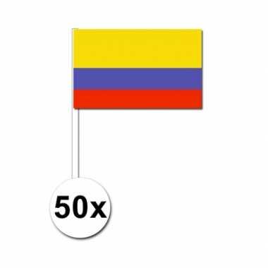 Handvlag colombia set van 50