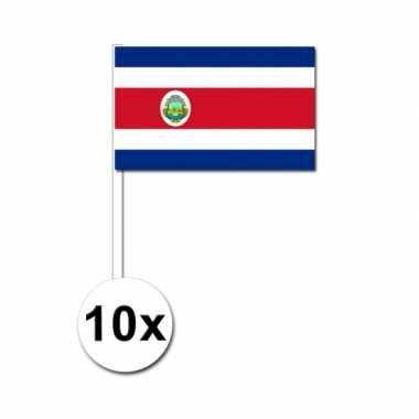 Handvlag costa rica set van 10