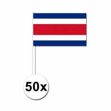Handvlag costa rica set van 50