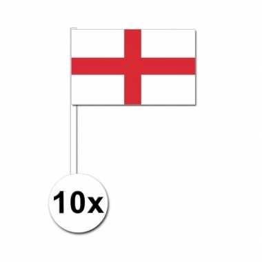 Handvlag engeland set van 10