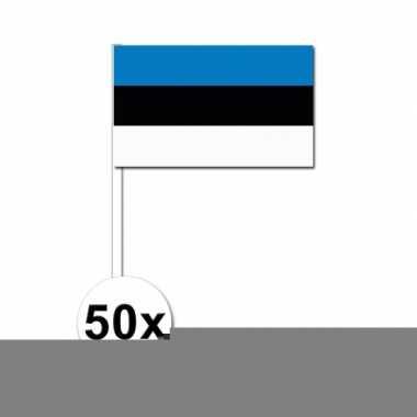 Handvlag estland set van 50