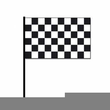 Handvlag finish auto racing