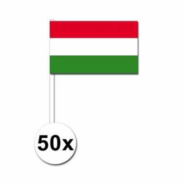 Handvlag hongarije set van 50