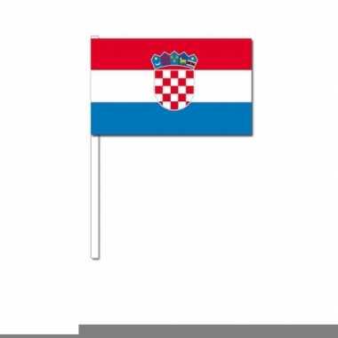 Handvlag kroatie 12 x 24 cm