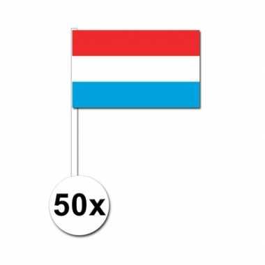 Handvlag luxemburg set van 50