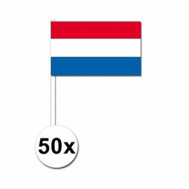 Handvlag nederland set van 50
