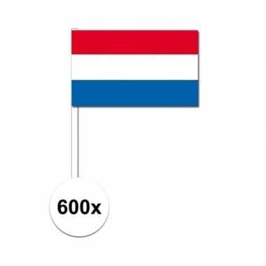 Handvlag nederland set van 600x