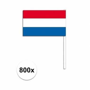 Handvlag nederland set van 800x