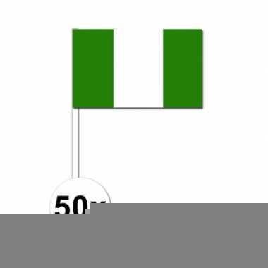 Handvlag nigeria set van 50