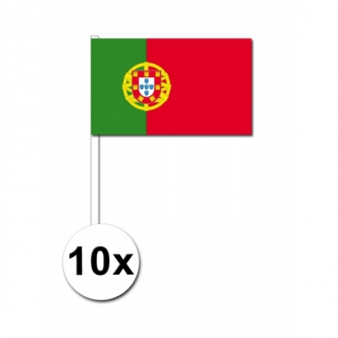 Handvlag portugal set van 10