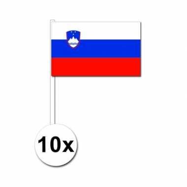 Handvlag slovenie set van 10