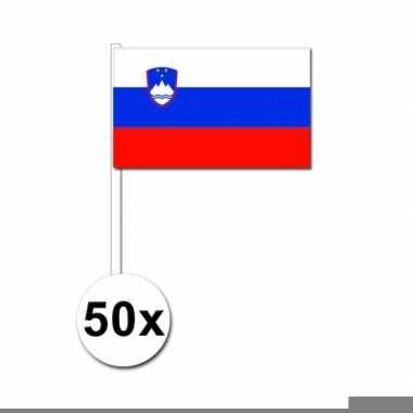 Handvlag slovenie set van 50