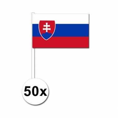 Handvlag slowakije set van 50