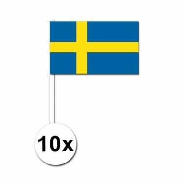 Handvlag zweden set van 10