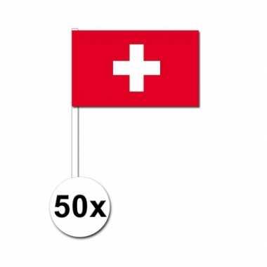 Handvlag zwitserland set van 50