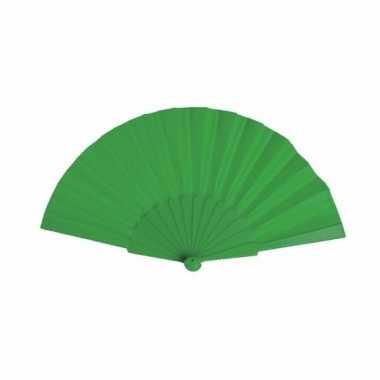 Handwaaier groen 23 cm