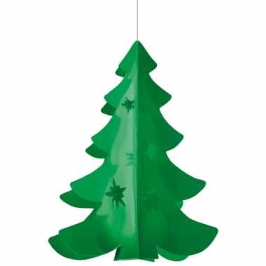 Hang deco kerstboom brandvertragend