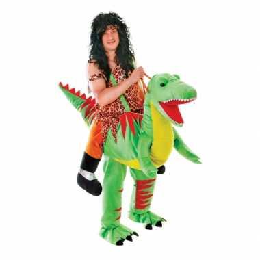 Hang kostuum dinosaurus voor volwassenen