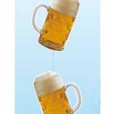 Hangdecoratie bier 100 cm