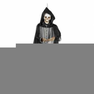 Hangdecoratie skelet geest 150 cm