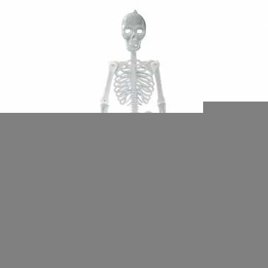 Hangend glow in the dark skelet 150 cm