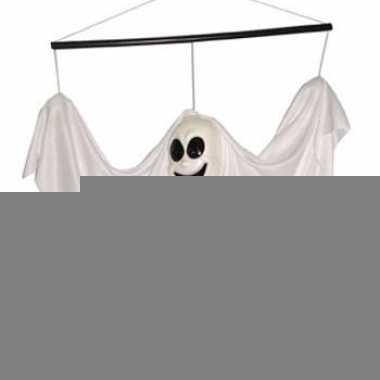 Hangend spookje wit 60 cm
