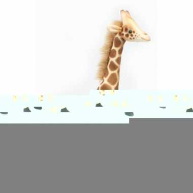 Hansa knuffel giraffe 27 cm