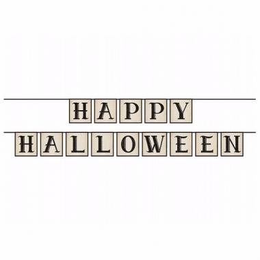 Happy halloween slinger 210 cm